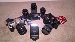 35mm SLR Camera Bundle