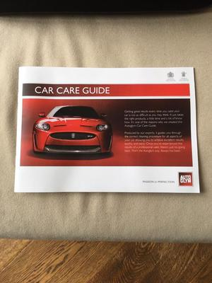 Auto Glym car valeting kit