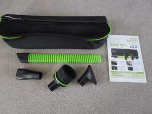 BRAND NEW GTECH CAR CARE KIT WHICH ATTACHES TO GTECH HAND HELD VACUUM CLEANER