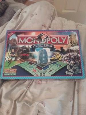 Monopoly Leicestershire limited edition