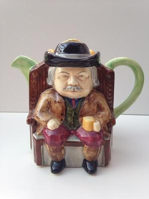 Vintage H J Wood Ltd Darby & Joan Teapot