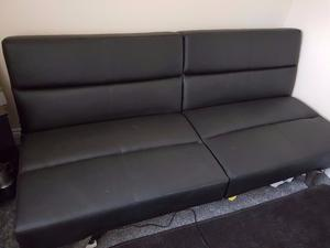 clic clac sofa bed barely used posot class. Black Bedroom Furniture Sets. Home Design Ideas
