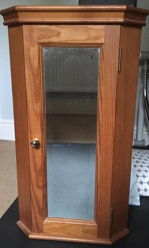 Ikea leksvik antique pine corner tv cabinet | Posot Class