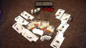 Dartboard, Darts and accessories - Hardly used