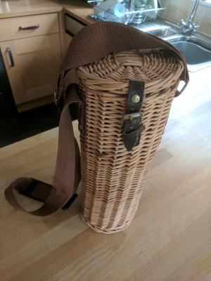 Wicker Thermos