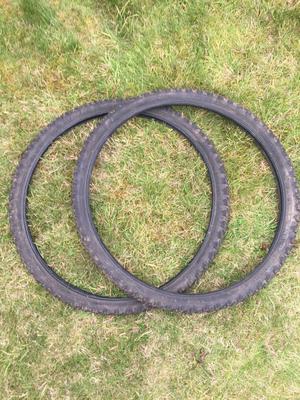 Mountain bike tyres 26x 1.95