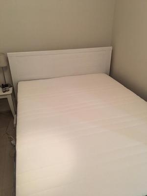 Standard Double Ikea Bed & Mattress