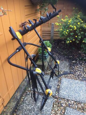 Universal 3 Bike rear mounted Bike rack