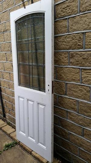 Exquisite Hardwood Exterior Door