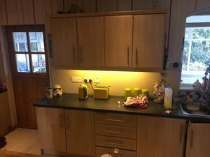 Kitchen Units and Worktop (No Appliances)
