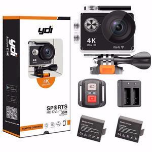 YDI 4K Action Camera - WiFi - 2 Batteries