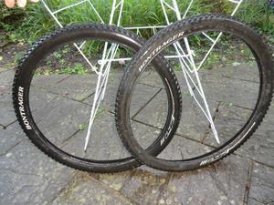 "Pair of 26"" Bontrager Mountain Bike Tyres"