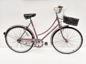 vintage ladies Raleigh Caprice town bicycle with basket