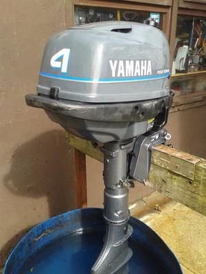 Yamaha 4hp 2 stroke long shaft outboard posot class for Yamaha 4 stroke outboards