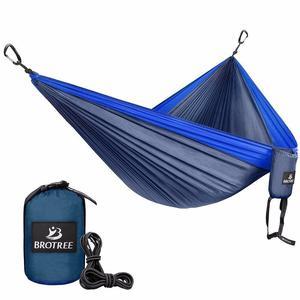 Camping Hammock - Portable Lightweight Parachute Nylon