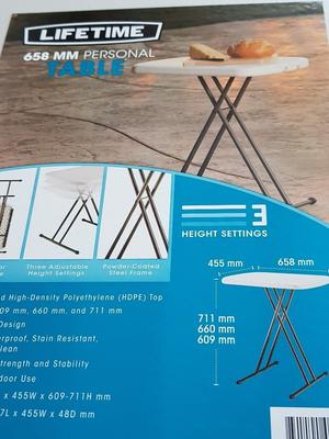 Camping Table.
