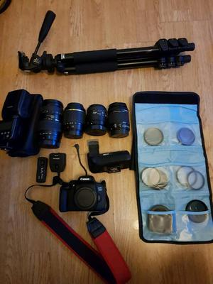 Canon 750d and accessories