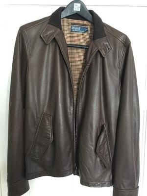 Ralph Lauren Polo leather men's jacket - Small
