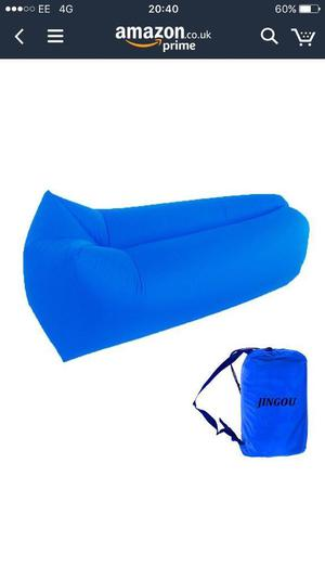 Inflatable lounger BRAND NEW