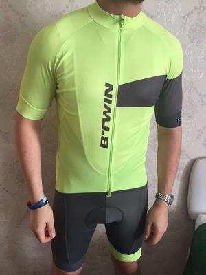 Mens Cycling Jersey and Bib shorts