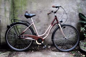 PANTHER SOPHY DELUXE. 20 inch, 51 cm. Ladies womens dutch bike, 7 speed, pedal brake