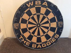 West Bromwich Albion dartboard