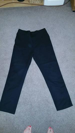 School Uniform - black school trousers size yrs