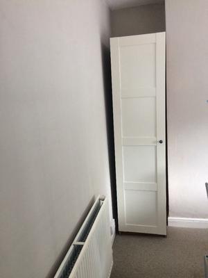 Ikea single wardrobe