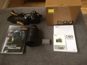 Nikon D90 DSLR With Nikon mm Lens, Plus Accessories