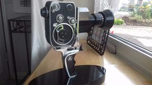 BOLEX P1 VINTAGE CAMERA WITH CASE AND ACCESSORIES.