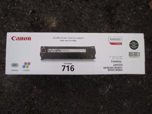 Canon black toner cartridge