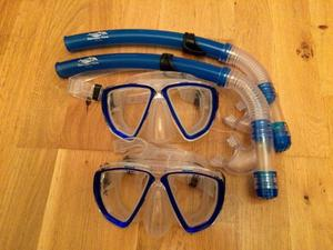2 Diving/Swimming Masks & Snorkels