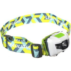 SHINING BUDDY 200 LATEST HALO FACED LED HEAD LAMP RED & WHITE LIGHT WHITE GREEN.