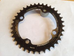 Mountain bike chain ring: ChromagSequence 104 BCD X-Sync Chainring