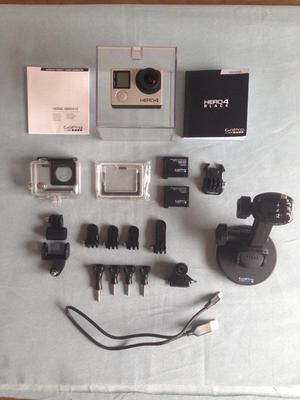GoPro Hero 4 Black Edition Action Camera and Accessories Bundle