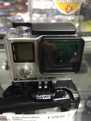 GoPro Hero 4 Black edition action camera