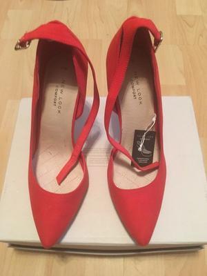 Red Herring Orange Shoes