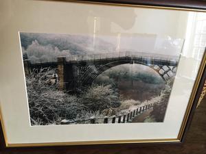 Professional Framed Photo of Ironbridge Shropshire.