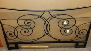 New single bed metal headboard
