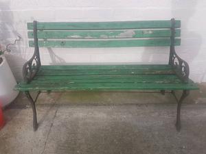 Outdoor bench needs restoring
