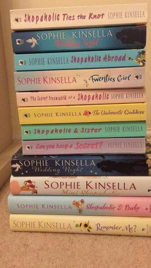 12 x Sophie Kinsella books