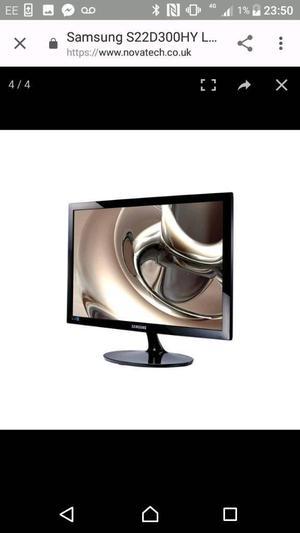 22 inch Samsung TV with digital ariel