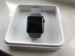 Apple Watch - 42mm Space Black Stainless Steel Case & Link Bracelet