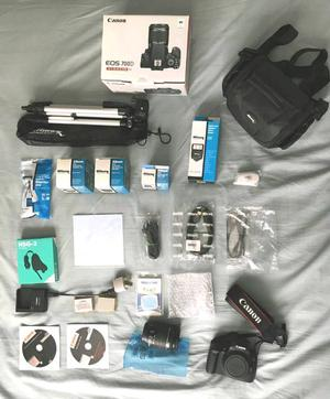 Canon 700D with mm Lens and many more accessories