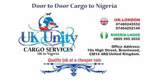 Door to door cargo/ Shipping to Nigeria