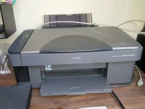 Epsom stylus colour printer with scanner