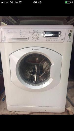 Hotpoint washing machine 9kg rpm free local delivery and fitting