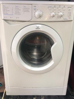 Indesit washing machine 6kg free local delivery and fitting