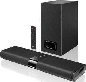 JVC wireless soundbar & subwoofer with Bluetooth