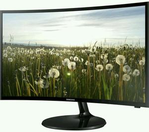 "SAMSUNG 32"" CURVED LED TV AND MONITOR BUILT IN HD FREEVIEW USB PLAYER 2× HDMI VGA."